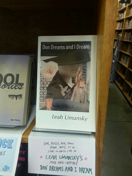 DON DREAMS AND I DREAM HAS A HOME AT POWELLS!!!